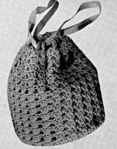 Bag No. 2334 ~ Free Vintage Crochet