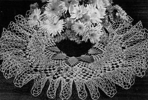 Ruffle Cascade Doily #D-1124 ~ Free Vintage Crochet