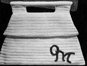Pagoda Purse ~ Free Vintage Crochet