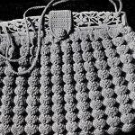Raised Shell Bag Pattern ~ Free Vintage Crochet