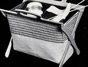 Handy Work Bag ~ Free Vintage Crochet