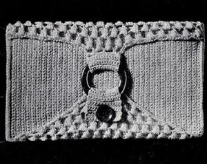 Pochette Purse ~ Free Vintage Crochet