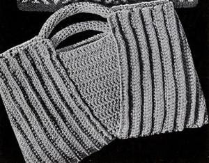 Butterfly Bag #2064 ~ Free Vintage Crochet