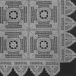 Meadow Daisy Bedspread ~ Free Vintage Crochet