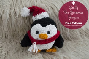 Stuffy the Christmas Penguin ~ The Stitchin' Mommy