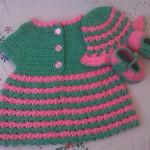 Baby Dress ~ aamragul – Crochet/Crosia Home