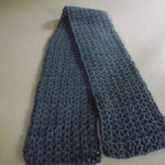 V-Stitch Scarf ~ Barb's Crochet