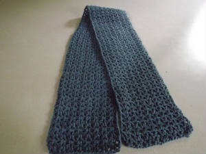 V Stitch Scarf Free Crochet Pattern