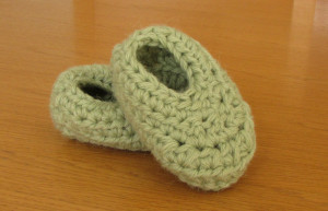 Wooly Wonders Baby Booties ~ Dee Ann H - Joyful In Tribulation