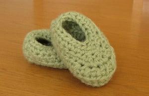 Wooly Wonders Baby Booties ~ Dee Ann H - Joyful In Tribulation