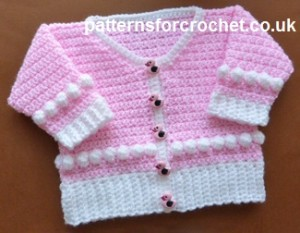 Scoop Neck Cardigan ~ Patterns For Crochet