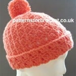 Bobble Hat ~ Patterns For Crochet