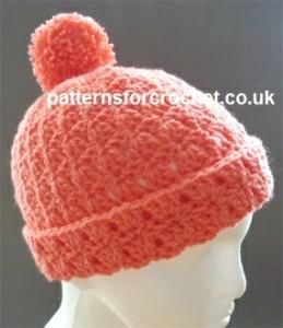 Bobble Hat ~ Patterns For Crochet