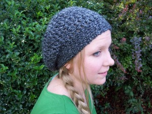 Lovely Lady Slouchy Hat ~ Stitch11
