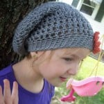 Slouchy Hat for Children ~ Stitch11