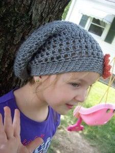 Slouchy Hat for Children ~ Stitch11