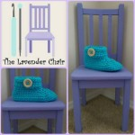 Chunky Buttoned Slipper ~ Dorianna Rivelli - The Lavender Chair