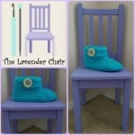 Chunky Buttoned Slipper ~ Dorianna Rivelli – The Lavender Chair