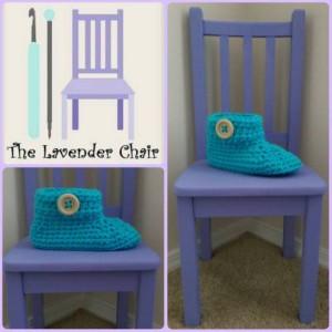 Chunky Buttoned Slipper ~ Dorianna Rivelli - The Lavender Chair