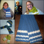 Raised Stripes Scarf ~ Jessie At Home