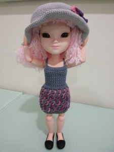 Interlocked Crochet Dress ~ Dezalyx