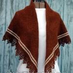 Pretty Stripe Shawl ~ ABC Knitting Patterns
