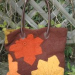 Chestnut Leaf Bag ~ ABC Knitting Patterns