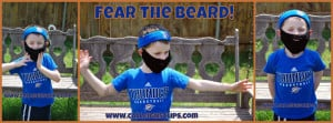 Fear the Beard ~ Elisabeth Spivey - Calleigh's Clips & Crochet Creations