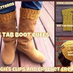 Key Tab Boot Cuffs ~ Elisabeth Spivey – Calleigh's Clips & Crochet Creations