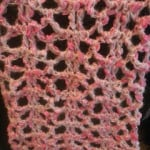 Shimmer & Shine Scarf ~ Crochet Addict