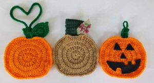 Fall Pumpkin Towel Holder ~ Aurora Suominen - DragonFlyMomof2 Designs