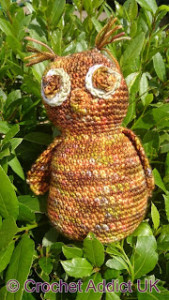 Boo The Owl ~ Crochet Addict