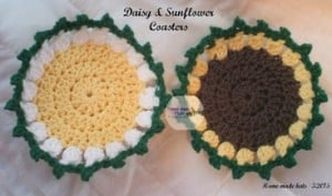 Springtime Table Setting Coasters & Place Mat ~ Home Made Hats by Cheryl