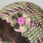 Ruffled Flower Embellishment ~ Home Made Hats by Cheryl