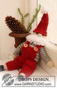 Christmas Santa ~ DROPS Design