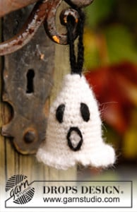 Halloween Ghost in Two Strands ~ DROPS Design