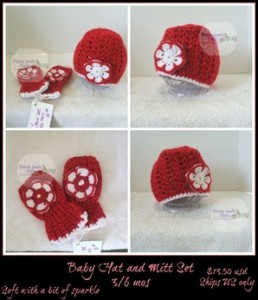 Shell Stitch Baby Hat ~ Home Made Hats by Cheryl