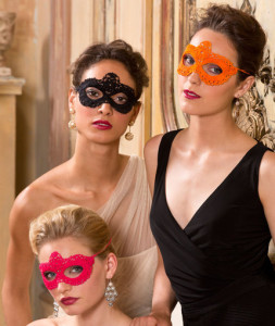 Go Incognito Masks ~ Lisa Gentry - Red Heart