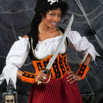 Halloween Wench ~ Kim Guzman - Red Heart