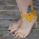 Bermuda Triangle Ankle Cuff ~ Shannon Kilmartin – Cre8tion Crochet