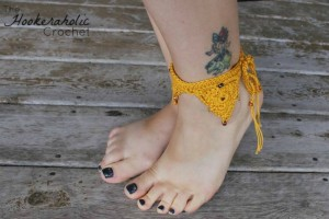 Bermuda Triangle Ankle Cuff ~ Shannon Kilmartin - Cre8tion Crochet