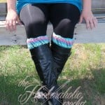 Kimberly Boot Cuffs ~ Shannon Kilmartin - Cre8tion Crochet