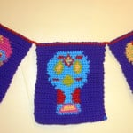Day of the Dead Banner ~ Crochet Parfait