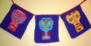 Day of the Dead Banner ~ Crochet Parfait