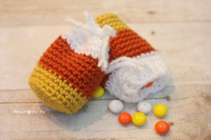 Candy Corn Pouch ~ Repeat Crafter Me