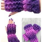 Fingerless Mitts ~ Kathy Lashley – ELK Studio