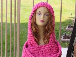 Chunky Hooded Cowl ~ Crochet Dreamz