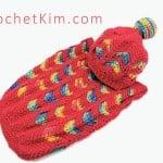 Circus Love Baby Hat ~ Kim Guzman - CrochetKim