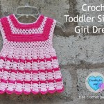 Toddler Size Girl Dress ~ Erangi Udeshika - Crochet For You