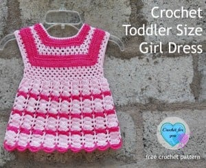 Toddler Size Girl Dress ~ Erangi Udeshika - Crochet For You